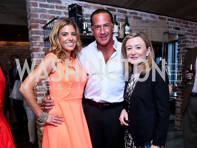 Natalie Van Eron, Pete Taddeo, Monica Boyd. Photo by Tony Powell. Celebrating Summer. Eno Wine Bar. June 18, 2014
