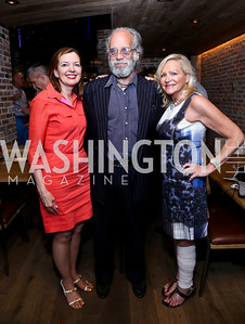 Marie Royce, Kyle Samperton, Deborah Sigmund. Photo by Tony Powell. Celebrating Summer. Eno Wine Bar. June 18, 2014