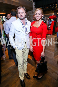 Sandro Kereselidze, Catherine Carlstedt. Photo by Tony Powell. Celebrating Summer. Eno Wine Bar. June 18, 2014