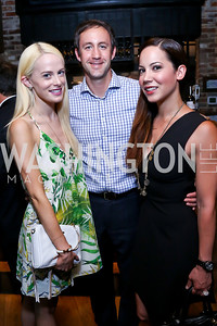 Alison McLaughlin, Craig Fischer and Karin Tanabe. Photo by Tony Powell. Celebrating Summer. Eno Wine Bar. June 18, 2014