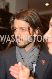 Diego Luna, Cesar Chavez Cast Party at Oyamel, with Diego Luna, America Ferrera, Rosario Dawson, Voto Latino, and Herbalife. March 18, 2014.  Photo by Ben Droz.