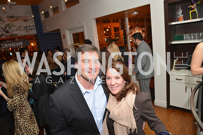 David White, Kimball Stroud, Cesar Chavez Cast Party at Oyamel, with Diego Luna, America Ferrera, Rosario Dawson, Voto Latino, and Herbalife. March 18, 2014.  Photo by Ben Droz.
