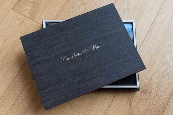 Charlotte & Matt  35 x 25 Graphi Wedding Album
