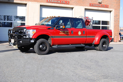 Utility 1 is a 2011 Ford F-350, 100/100.