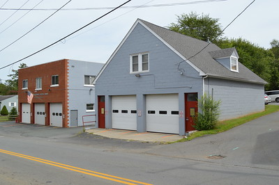Two buildings house the WARS equipment in Crozet, Virginia.  The building on the left is the main facility, which was originally the Crozet Volunteer Fire Department station.  The building on the right was the original WARS station, and is now used to house several of the apparatus as well as some other station functions.