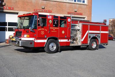 Engine 4's 1997 Quantum, 1000/500, sn- EB025-01.  ex- Charlottesville E-5.