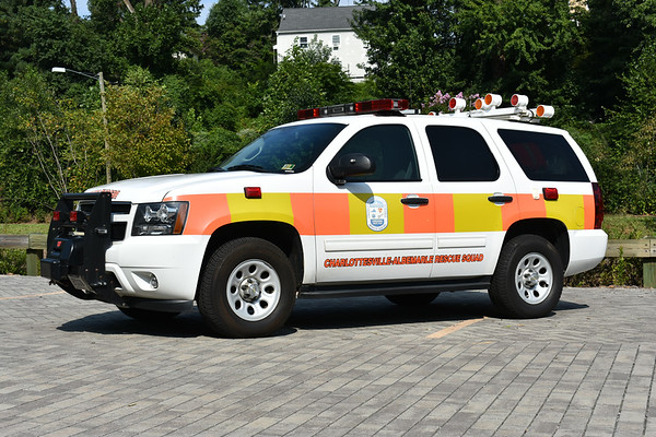 Support 139 for CARS is this 2012 Chevrolet Tahoe with McDermott Corp Lights.