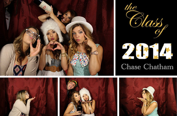 Chase's Graduation Party 6.21.14 Photo Strips