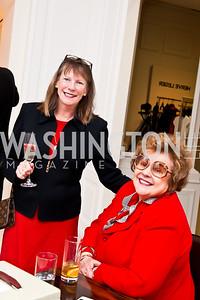 Ellen Daniels, Sandra Crippen. Photo by Tony Powell. Saks Fifth Avenue Annual Fashion Show Fundraiser. November 16, 2014