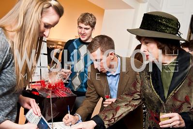 Dan Hozik, Matthew Hozik, Sherry Watkins. Photo by Tony Powell. Saks Fifth Avenue Annual Fashion Show Fundraiser. November 16, 2014