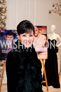 Sukim Eisenberg. Photo by Tony Powell. Saks Fifth Avenue Annual Fashion Show Fundraiser. November 16, 2014