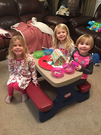 Christmas 2016 Play Date (Avery, Madeline, and Quinn)
