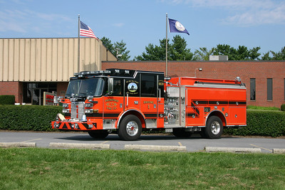 Another photo of Engine 1, this one taken in September of 2013 in front of the station.