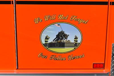 Winchester's Friendship Fire Company Medic 1 - a 2016 Ford F550 4x4/Horton.