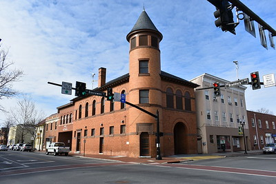 The beautiful and historic Rouss fire station in downtown Winchester.  This firehouse  is worth a visit.