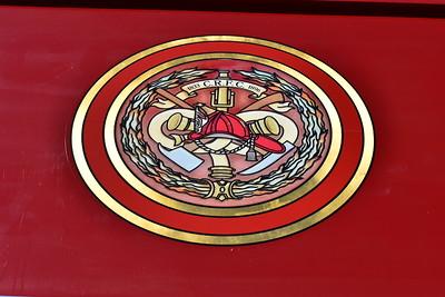 Squad 2 - Charlie Rouss Fire Company emblem.