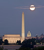 The Iconic DC Full Moon Image