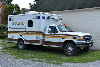 Clarke County (Virginia) Sheriff's Office uses this ex-ambulance.
