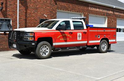 Berryville, VA - John H. Enders Fire Co. Utility 1 - a 2017 Chevrolet 4x4/Reading that replaced an older Suburban.