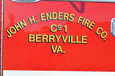 John H. Enders Fire Company in Berryville - Clarke County Station 1.