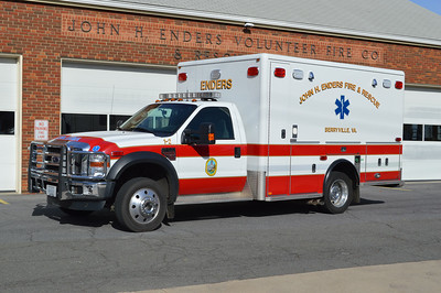 Berryville's Medic 1-2 is a 2009 Ford F450/Horton.