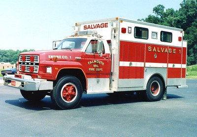 Salvage 1 was a 1983 Ford/EVF.  Sold to Round Hill, Virginia (Frederick County).  Sold to Boyce, Virginia (Clarke County).