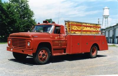 Former Reserve Tanker 4, a 1967 Ford 600/Broadway Metals, 250/1100.