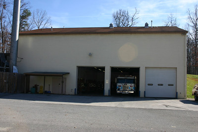 Apparatus bays at Blue Ridge.