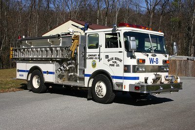 Officer side of the former Wagon 8.  Sold to Boles Fire District in Labadie, Missouri.