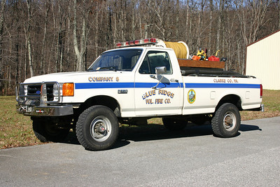 Brush 8 is a 1987 Ford F-350/CET, 250/300.