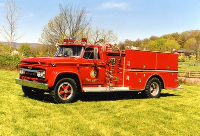 Linden's former 1966 GMC 4000/Oren, 750/500, sn- 2202.  ex - Blue Ridge, Virginia (Clarke County).