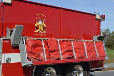 "Berryville's Tanker 1 - 2002 Pierce Dash 1250/2500.  ""Hydrants?  Who Needs Em!"""