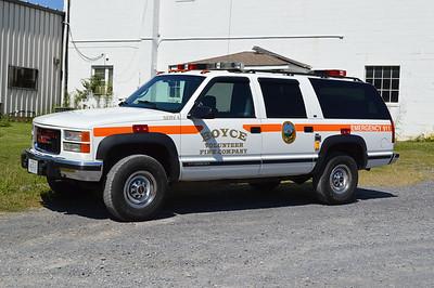 SERV 4 is a 1997 GMC.