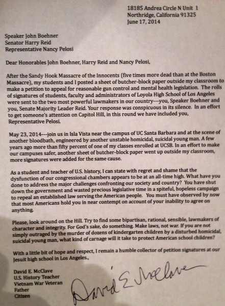 This was the cover letter attached to each petition, addressed to the three most powerful lawmakers in the country.