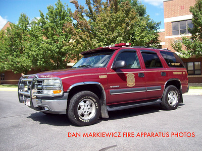 DUBOIS FIRE DEPT CHIEFS UNIT 2003 CHEVY TAHOE
