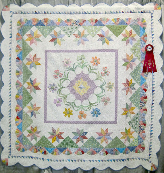 Second Place<br /> Remember When<br /> First Coast Quilters Guild