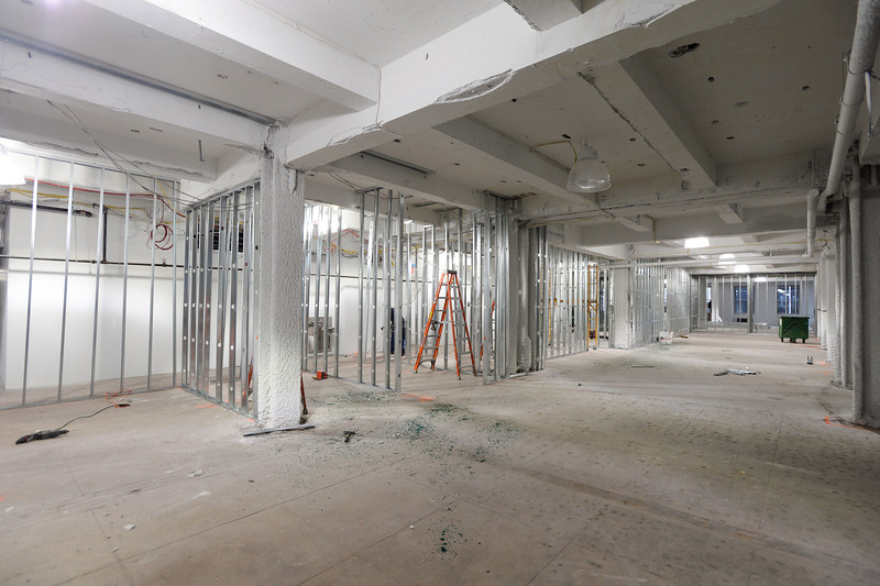 Work being performed at Collective 229 West 43rd Street 8th floor