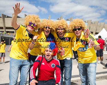 Colombian fans