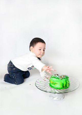Conner ~ 1 year cake smash!