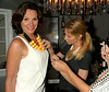 Carole Radziwill admires Countess Luann de Lesseps new necklace<br /> photo by Rob Rich/SocietyAllure.com © 2014 robwayne1@aol.com 516-676-3939