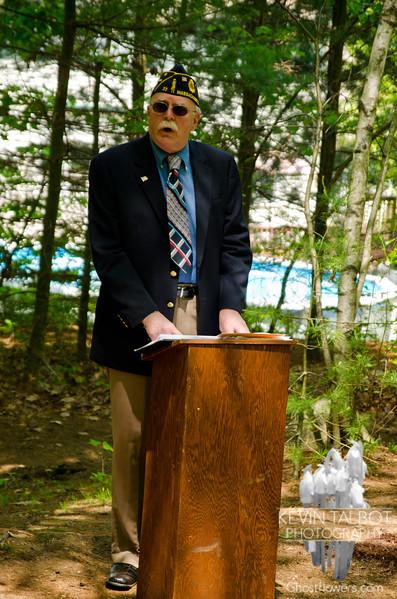 B-24 Crash Site Ceremony, Uxbridge, Massachusetts 5/20/12