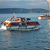 A tender used to ferry guests off/onto the Queen Elizabeth Cruise Ship at Dun Laoghaire Harbour - 08 August 2013