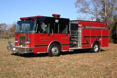 Wagon 6 is this nice 2004 Spartan Diamond/New Lexington, 1750/750/20.