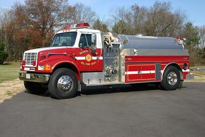 Tanker 12 is a 1993 International/S&S, 500/1850.