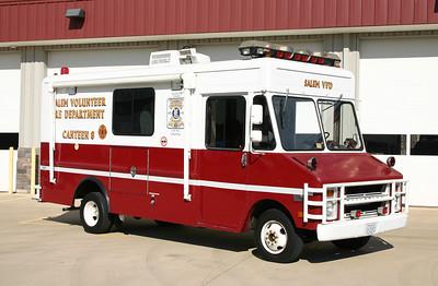 Canteen 8 is a 1977 Chevy Step Van 30/Yankee.  ex - Vienna, Virginia (Fairfax County) Canteen 2. ex -  Fairfax County Arson Lab.