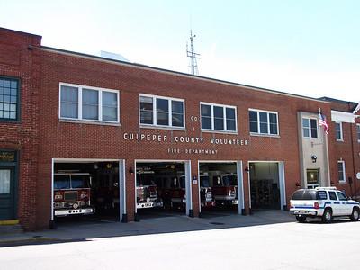 Culpeper County Volunteer Fire Department - Culpeper County Station 1.