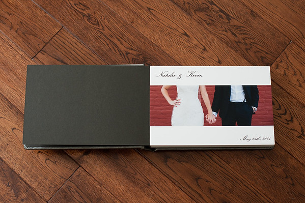 Custom Wedding Album Sample