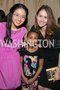 Jennifer Li, Nyree Crowell, Lauryn Kalbermatten-Goldberg, . Photo by Alfredo Flores. DC-CAPital Stars Talent Competition. The John F. Kennedy Center for the Performing Arts. February 25, 2014.