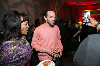 Paris Perraultt, Savion Glover. Photo by Alfredo Flores. DC-CAPital Stars Talent Competition. The John F. Kennedy Center for the Performing Arts. February 25, 2014.