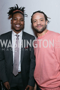 Kweko Sumbry, Savion Glover. Photo by Alfredo Flores. DC-CAPital Stars Talent Competition. The John F. Kennedy Center for the Performing Arts. February 25, 2014.